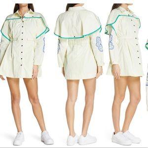 Melody E. Truth Long Sleeve Parachute MiniDress